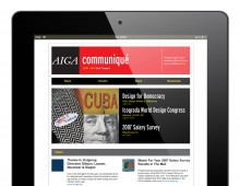 AIGA E-Newsletter Suite