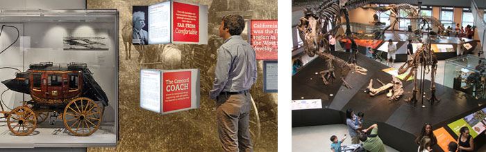Stagecoaches & Dinosaurs: Recent Exhibition Design Projects