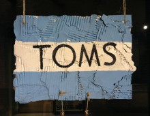 TOMS Shoes: Pop Up Store