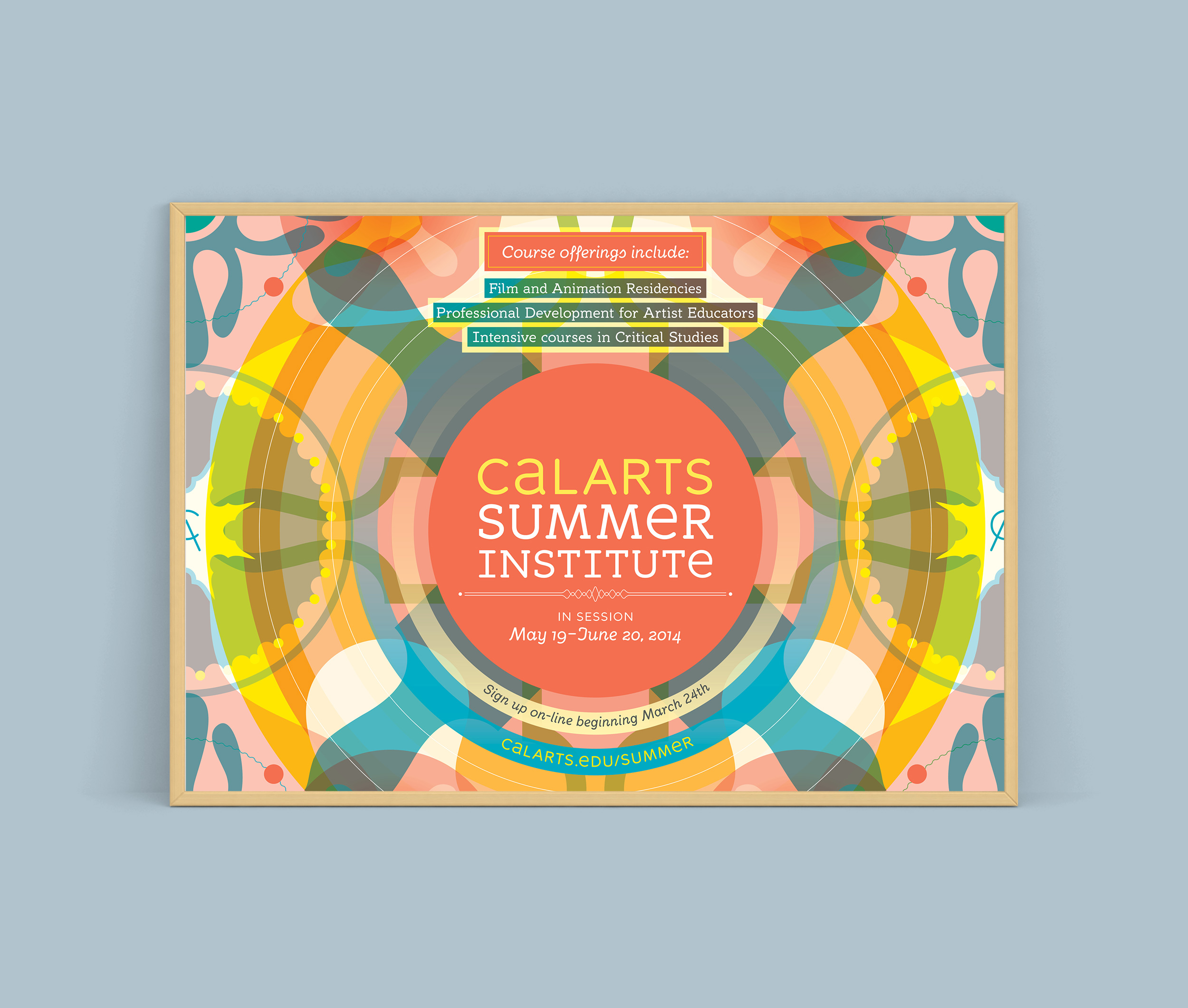 CalArts_Summer_Institute_Poster